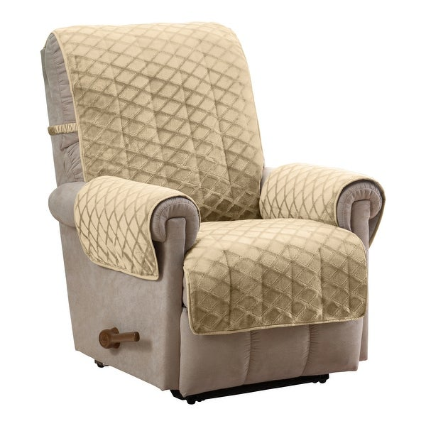 Fairmont Diamond Plush Recliner Furniture Cover. Opens flyout.