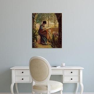 Easy Art Prints Claude Monet's 'Camille' Premium Canvas Art