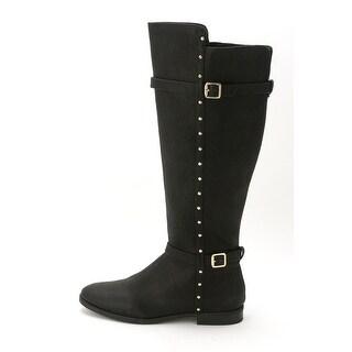 INC International Concepts Women's Ameliee Wide Calf Knee High Riding Boot