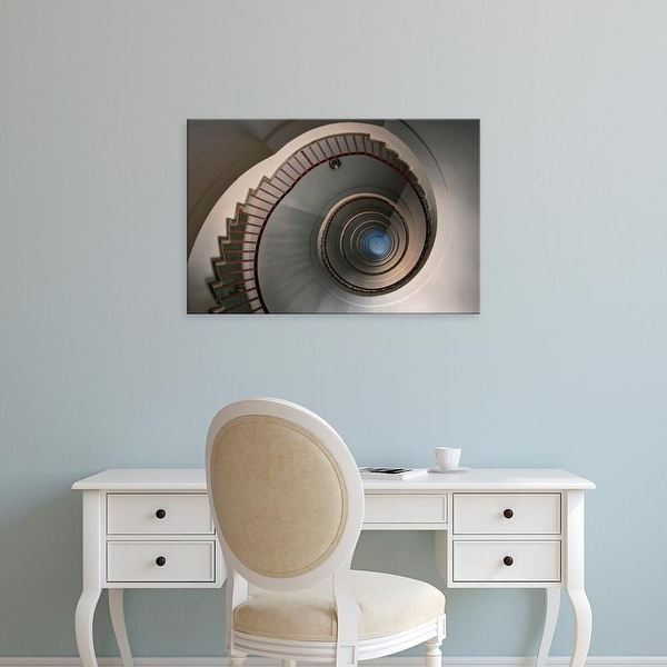 Easy Art Prints Adam Jones's 'Spiral Stairway' Premium Canvas Art