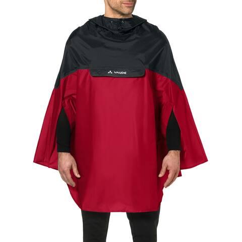 Vaude Covero Biking Rain Poncho II - Red