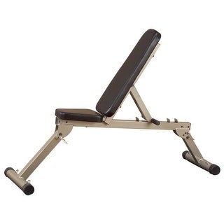 Best Fitness Flat, Incline, Decline Bench - Black