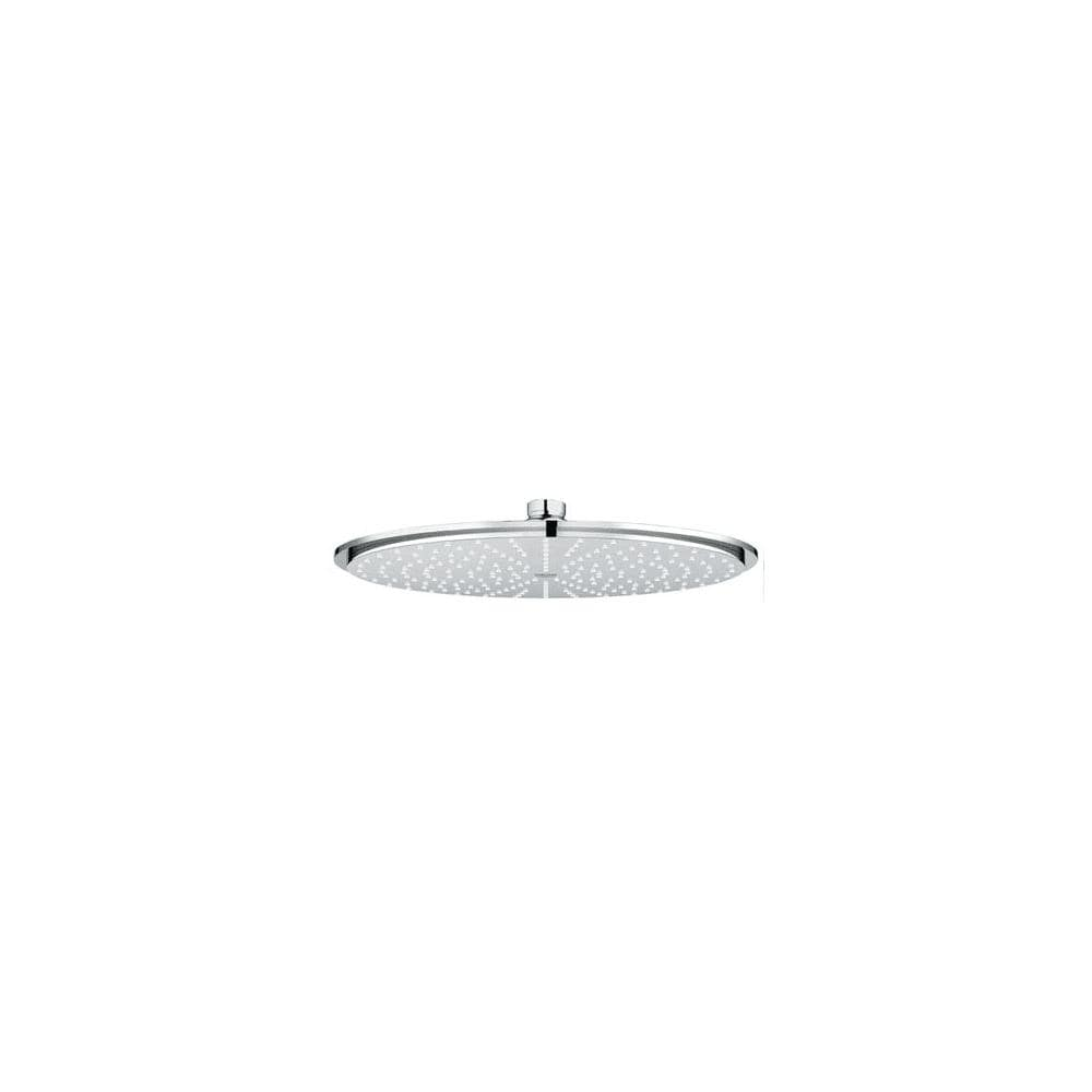 Grohe 27 478 Rainshower Cosmopolitan 12 Rain Shower Head With Dreamspray Technology 2 5 Gpm Starlight Chrome