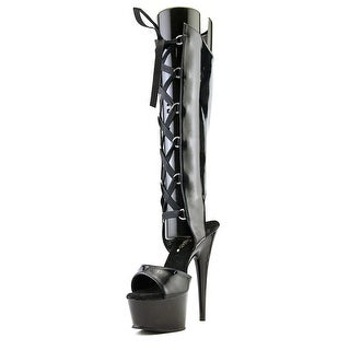 Pleaser Delight-600-40 Open Toe Synthetic Sandals
