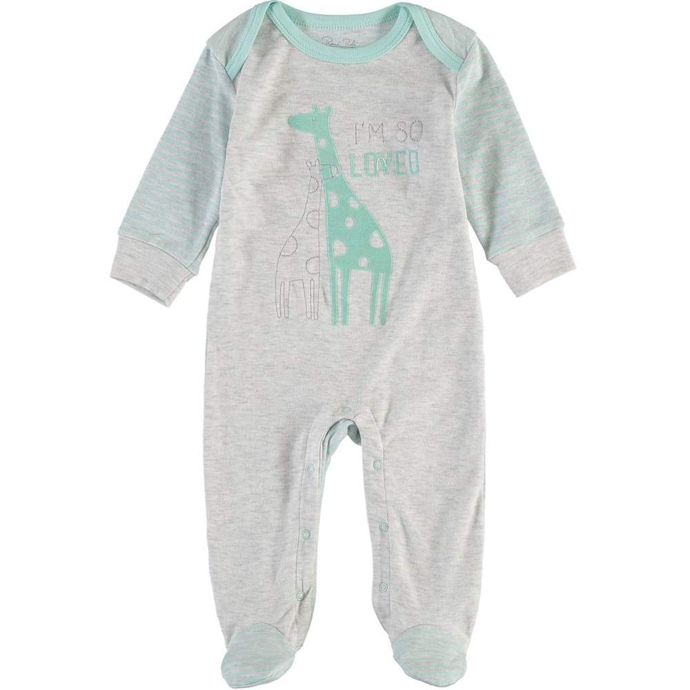5d860de605 Shop Rene Rofe Baby Boys 0-9 Months Giraffe Sleep and Play - Grey - Free  Shipping On Orders Over  45 - Overstock - 26267775