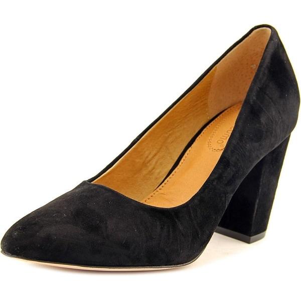 Corso Como Kathy Women Pointed Toe Suede Black Heels