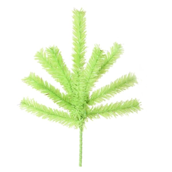 Chartreuse Green Christmas Craft Pick 7""