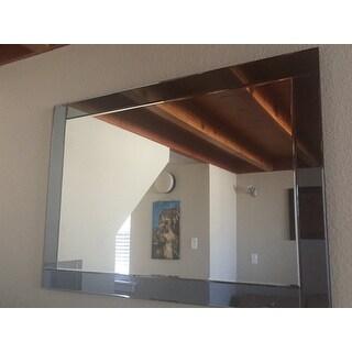 Abbyson Omni Rectangle Wall Mirror