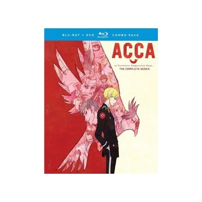 Acca-complete series (blu-ray/dvd combo/4 disc) -  Overstock