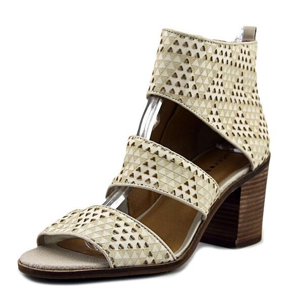 Lucky Brand Kabott Women Open Toe Synthetic Tan Sandals