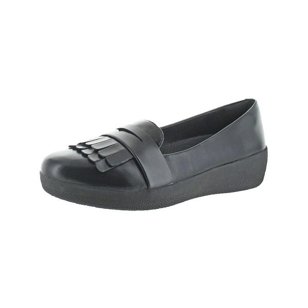 48479da077f Shop Fitflop Womens Fringey Sneakerloafer Penny Loafers Fringe Slip ...