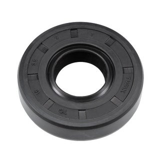 Oil Seal, TC 15mm x 35mm x 8mm, Nitrile Rubber Cover Double Lip - 15mmx35mmx8mm