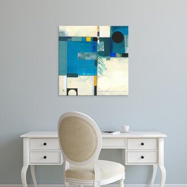 Easy Art Prints Deborah T. Colter's 'Calypso Blue I' Premium Canvas Art