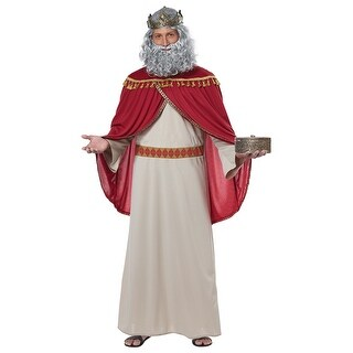 Mens Wise Man Melchior Biblical Magi Costume