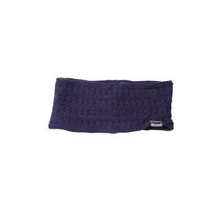 Ideology Dark Purple Knitted Headband OS