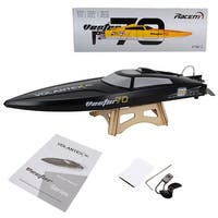 Costway Volantex Vector 70 RC Boat Brushless PNP Racing Boat No Radio Motor Servo Black