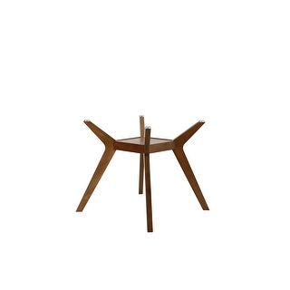 Link to Carson Carrington Videbaek Walnut Dining Table ( BASE ONLY) Similar Items in Dining Room & Bar Furniture