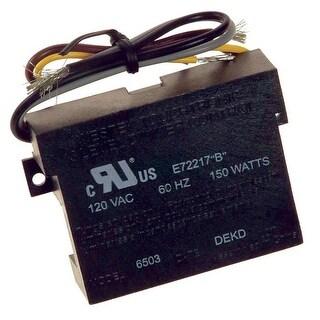 Westek 6503BC Full Range Lamp Dimmer, 150 watts, Black, 120 Volts