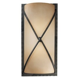 Minka Lavery ML 1975-1 2 Light Wall Sconce from the Aspen II Collection