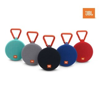 JBL Clip 2 Waterproof Portable Bluetooth Speaker (Option: black)