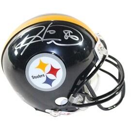 Hines Ward Signed Pittsburgh Steelers Mini Helmet