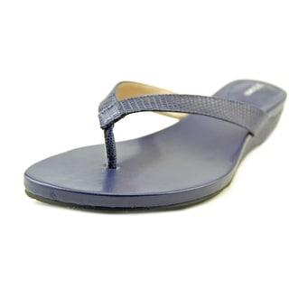 Style & Co Halo Envy Open Toe Leather Flip Flop Sandal