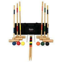 Baden G209-02-P2 Deluxe Series Croquet Set