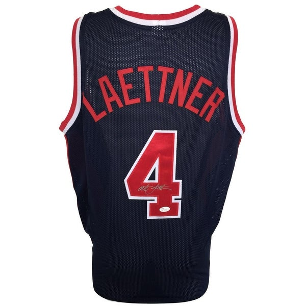 383fbd9d752 Shop Christian Laettner Signed Custom Blue Olympic Basketball Jersey JSA  ITP - Free Shipping Today - Overstock - 22411042