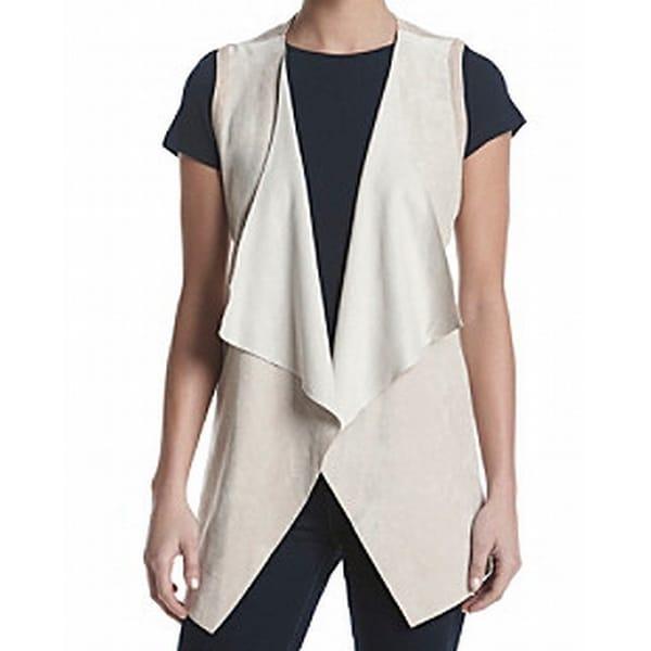f8406d0f5f5efd Shop Calvin Klein NEW Latte Beige Womens Size Medium M Faux Suede ...