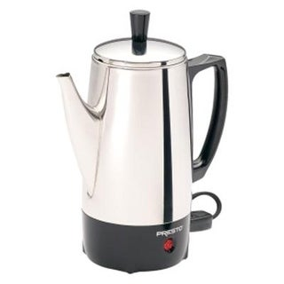 Presto 02822 6-Cup Stainless-Steel Coffee Maker (Pot) - Percolator