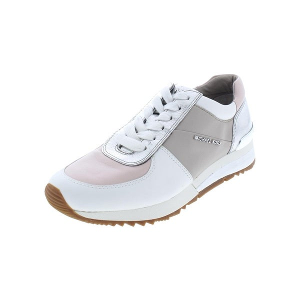 a9b3badb62dc MICHAEL Michael Kors Womens Allie Fashion Sneakers Leather Colorblock