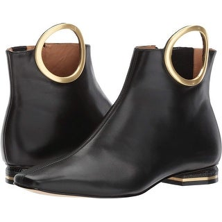 Calvin Klein Womens Blondie Square Toe Ankle Fashion Boots