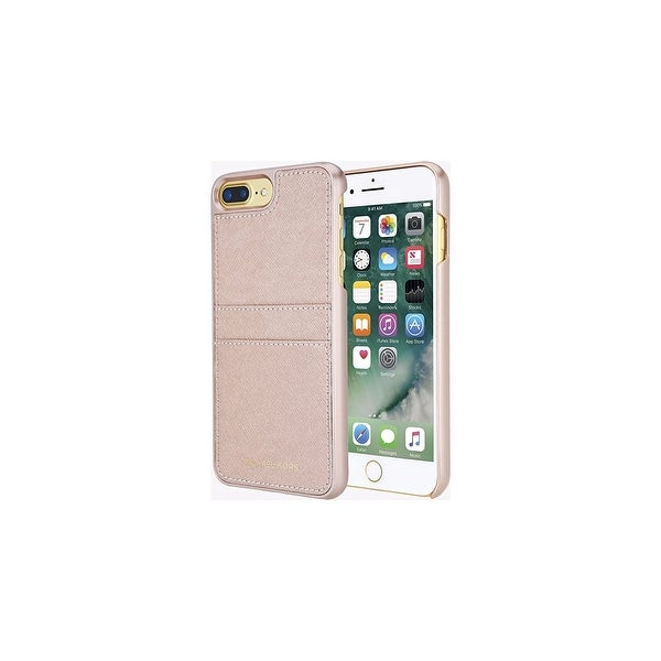 21a8ed9306597 Michael Kors Saffiano Leather Pocket Snap On Case for iPhone 7 Plus  amp   ...