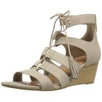 Ugg Womens Yasmin Leather Open Toe Casual Platform Sandals