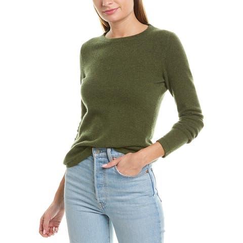 Qi Basic Cashmere Sweater