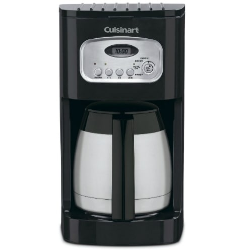 Refurbished Cuisinart Programmable Coffeemaker 10-Cup Thermal Programable Coffeemaker