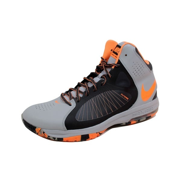 Nike Men's Air Max Actualizer II 2 Wolf Grey/Atomic Orange-Anthracite-Volt 622041-005 Size 12.5