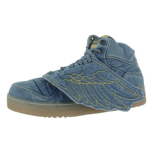 Adidas Jeremy Scott Wings Denim Men's Shoes - 11 d(m) us