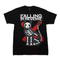 Falling in Reverse X-Ray Cat T-Shirt - Color - Black - Size - X-Large