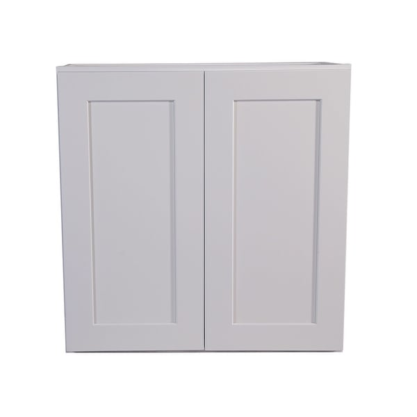 Design House 613547 Brookings 30 X Double Door Wall Cabinet White