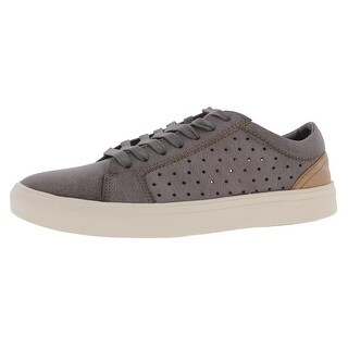 Steve Madden Mens Branlin Casual Shoes Faux Leather Distressed