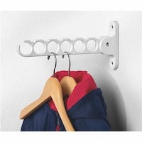 Spectrum White Hanger Holder 35000 Unit: EACH