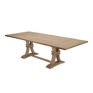 Link to Best Quality Furniture Rustic Wood Extension Dining Table Similar Items in Dining Room & Bar Furniture