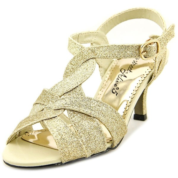 a3469c32a2e6 Shop Easy Street Glamorous Women Gold Glitr Sandals - Free Shipping ...