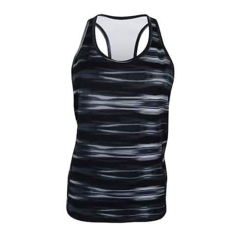 Lauren Ralph Lauren Women's Printed Racerback Tank Top - Black Multi