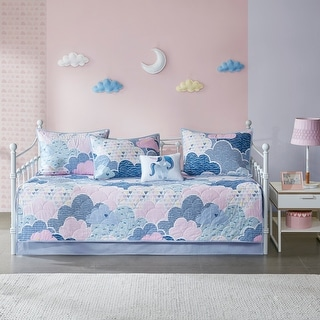 Link to Urban Habitat Kids Bliss Blue 6 Piece Daybed Set Similar Items in Daybed Covers & Sets