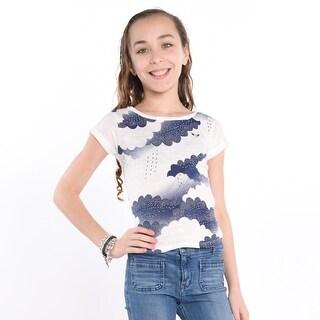 Cloudy T-Shirt - Beige (Option: 6x)