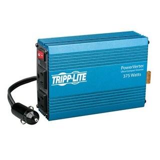 Tripp Lite Powerverter 375W Inverter, 12V Dc Input/120V Ac Output, 2 Outlets