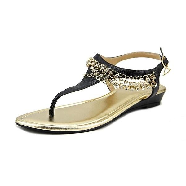 Thalia Sodi Zella Open Toe Synthetic Thong Sandal - 10