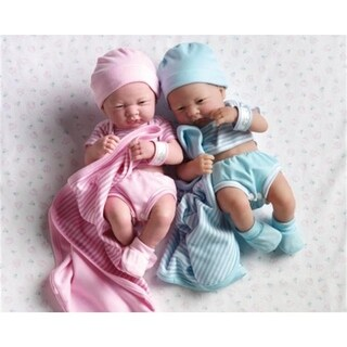 Dolls By Berenguer 18541 La Newborn Real Girl Doll - Size 14 Inch